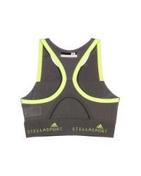 Adidas By Stella McCartney - Gray Top - Lyst