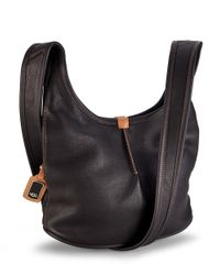 UGG | Black Carmen Small Crossbody Hobo Bag | Lyst