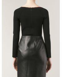 Christopher Kane - Black Lace Bodysuit - Lyst