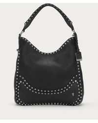 Frye | Black Nikki Nail Head Hobo | Lyst