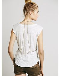 Free People - Metallic Womens Boheme Body Chain - Lyst