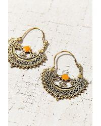 Urban Outfitters | Metallic La Jolla Hoop Earring | Lyst