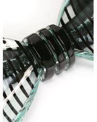Cor Sine Labe Doli - Green Striped Bow Tie for Men - Lyst
