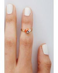 Forever 21 - Orange Jane'S Tiny Things Sushi And Sashimi Midi Ring - Lyst