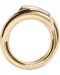 Maiyet - Metallic Gold Coiled Ring - Lyst