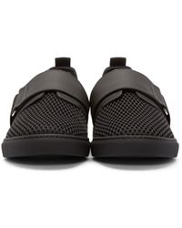 DSquared² - Black Strap Low-top Sneakers for Men - Lyst