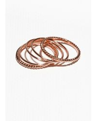 & Other Stories | Metallic Thin Rings | Lyst