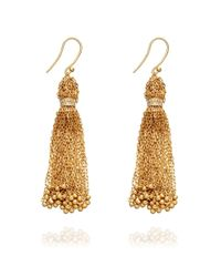Solange Azagury-Partridge | Metallic Tassle Earrings | Lyst
