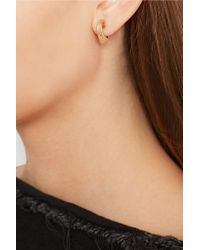 Fernando Jorge   Metallic Stream Lines 18-karat Rose Gold Earrings   Lyst