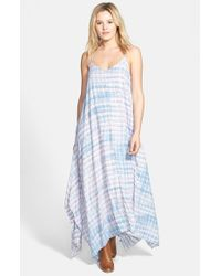 Billabong - Blue 'Wild Nightz' Tie Dye Maxi Dress - Lyst