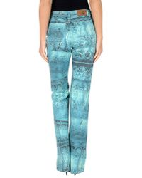 Just Cavalli - Green Casual Trouser for Men - Lyst
