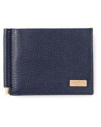 Ferragamo - Blue Billfold Wallet for Men - Lyst