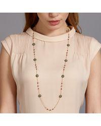 Miguel Ases - Metallic Labradorite and Quartz Necklace - Lyst