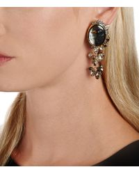 Alexis Bittar - Black Hand Carved Raven Cameo Clip Earring You Might Also Like - Lyst