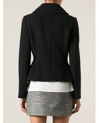 Dolce & Gabbana - Black Fitted Jacket - Lyst