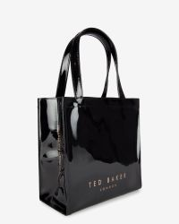 Ted Baker | Black Bow Detail Small Shopper Bag | Lyst