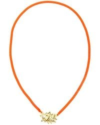 Ambush | Orange Pow Pendant Necklace | Lyst