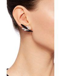 AS29 | Black Onyx Short Stud Earrings | Lyst