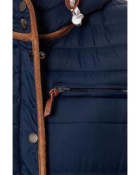 Bellfield - Blue The Falkirk Puffa Jacket - Lyst