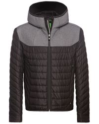 BOSS Green Black Outdoor Jacket 'jarmin' for men