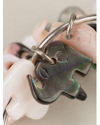 Aurelie Bidermann - Metallic Elephant Charm Cuff - Lyst