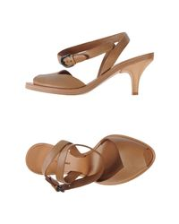 Roberto Del Carlo - Natural Sandals - Lyst