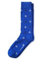Banana Republic   Blue Military Sock for Men   Lyst