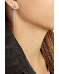 Diane Kordas - Metallic Starburst 18-Karat Rose Gold Diamond Earrings - Lyst