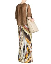 Emilio Pucci - Natural Small Kasia Leather Bucket Bag - Beige - Lyst