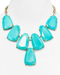 Kendra Scott - Blue Harlow Necklace 18 - Lyst