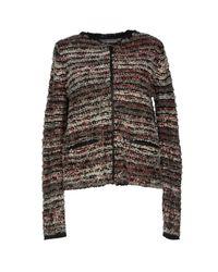 360sweater - Red Cardigan - Lyst