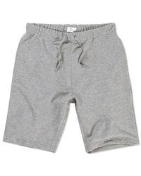 Sunspel | Gray Men's Loopback Cotton Short for Men | Lyst