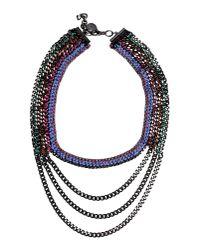 Venessa Arizaga - Purple Necklace - Lyst