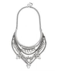 BaubleBar | Metallic Crystal Grendel Bib | Lyst