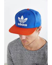 Adidas Originals | Blue Originals Trefoil Snapback Hat for Men | Lyst