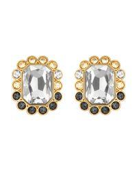 Swarovski | Multicolor Darling Pierced Earrings | Lyst