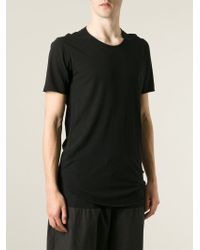 Lost & Found - Black Long T-Shirt for Men - Lyst