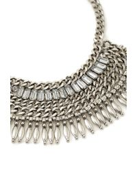 Forever 21 | Metallic Stacked Chain Necklace | Lyst