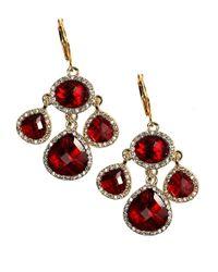 Anne Klein | Metallic Bright Merry Chandelier Drop Earrings | Lyst