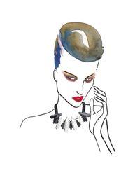 EK Thongprasert | Blue Miss Indigo Excalibur Necklace | Lyst