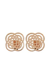 Ginette NY | Metallic Purity Studs Earrings | Lyst
