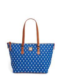 Dooney & Bourke | Blue Mlb Shopper | Lyst