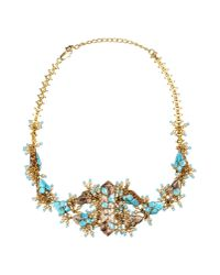 Dior | Blue Necklace | Lyst