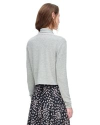 Rebecca Taylor - Gray Camille Cardigan - Lyst