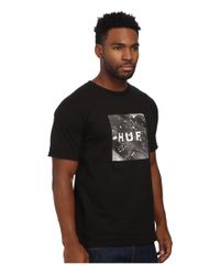 Huf - Black Classic Youth Box Logo Tee for Men - Lyst
