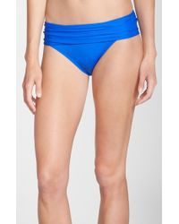 La Blanca | Blue 'renew & Refresh' Hipster Bikini Bottoms | Lyst