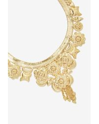 Nasty Gal | Metallic Rockefeller Collar Necklace | Lyst