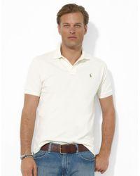 Polo Ralph Lauren | Natural Classic-fit Cotton Mesh Polo for Men | Lyst