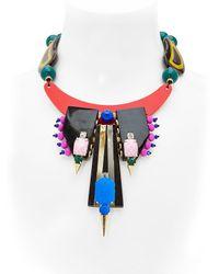 Katerina Psoma - Multicolor Multi-media Necklace - Lyst