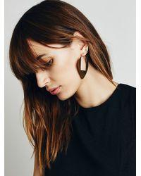 Free People | Metallic Seaworthy Womens Amante Earrings | Lyst